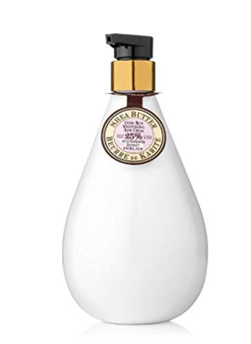Perlier Bath Lavender - Perlier Shea Butter with Lavender Extract Moisturizing Bath Cream 16.9 Oz