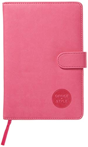 (Office Style 2018 Personal Organizer Diary Planner Notebook Calendar With Magnetic Latch, 5.75