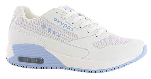 Oxypas Zapatillas Zapatillas Zapatillas Mujer Oxypas Weiß hellblau Oxypas Weiß Weiß Mujer Mujer hellblau HZxqwHrz