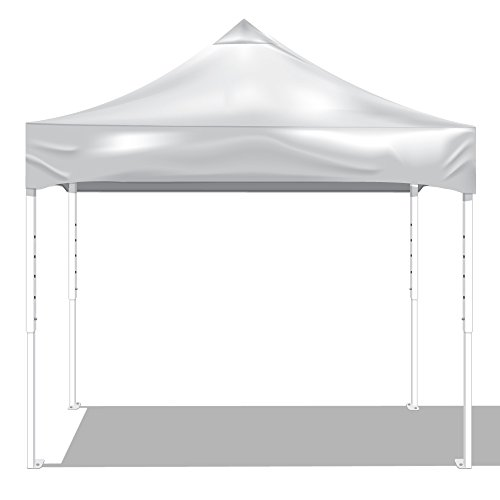 KD Kanopy PS100W Party Shade Steel Frame 1-Piece Pop-Up Indoor/Outdoor Portable Canopy, 10 by 10-Feet, White Review