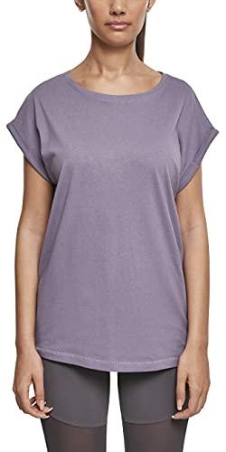 Urban Classics Ladies Extended Shoulders Tee, Camiseta, para Mujer