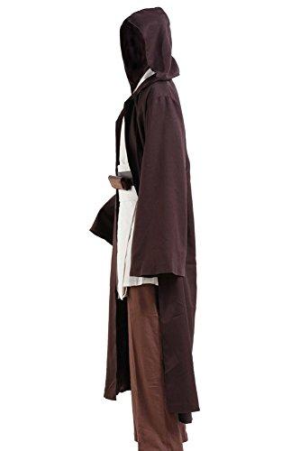 cosplaysky star wars jedi robe costume obi wan kenobi halloween outfit