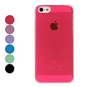 SUMCOM Simple Style Hard Case for iPhone 5/5S (Assorted Colors) , Black
