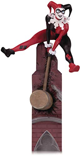 DC Collectibles Batman Rogues Gallery Multi-Part Statue: Harley Quinn Statue, Multicolor, 6 inches