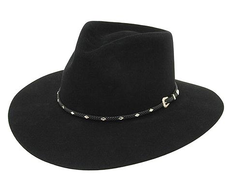 Stetson Diamond Jim Gun Club Hat 7 5/8 Black (Stetson Hats Gun Club)