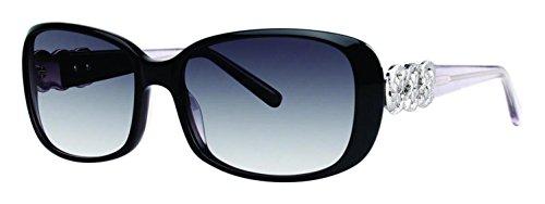 Vera Wang Luxe Aidin Sunglasses Black 57 - Wang Sunglasses