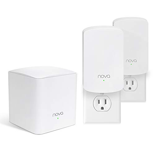 Tenda Nova Whole Home Mesh WiFi System - Replaces Gigabit AC WiFi Router and Extenders, Dual Band, Works with Amazon Alexa, Built for Smart Home, Up to 3, 500 Sq. ft. Coverage (MW5 3-PK). (Best Modem Wifi Combo 2019)
