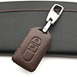 Autumn Water 3 Buttons Fob Shell Car Key Super Quality Leather Case Cover for Nissan Tiida Note Navara Micra Juke X-Trail Pathfinder