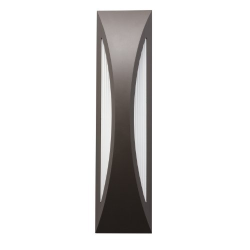 Kichler Lighting 49437AZ Cesya 24IN 31W 3000K LED Exterior Wall Mount, Architectural Bronze Finish by Kichler Lighting by Kichler Lighting