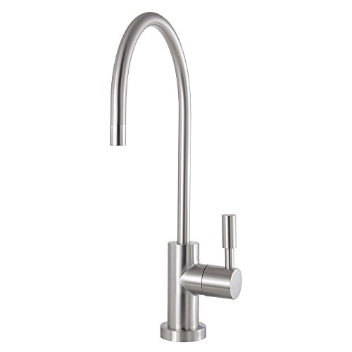 (Kingston Brass KSAG8198DL Concord Filtration Water Air Gap Faucet Satin Nickel)
