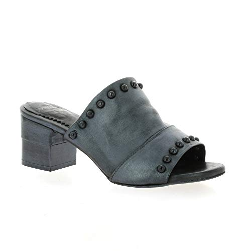 Anthracite Cuir Anthracite Pao Laminé Cuir Laminé Mules Mules Pao U8qad8w