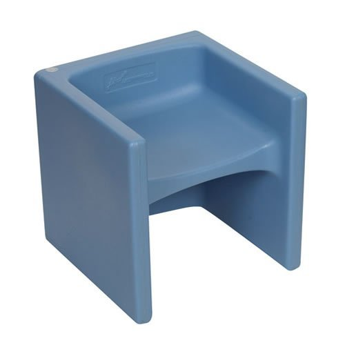 Children's Factory Cube Chair Sky Blue by Children's Factory
