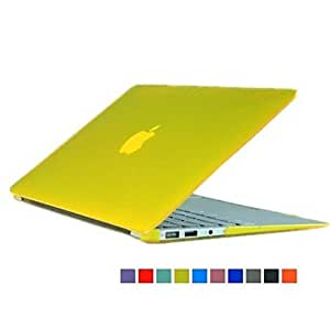 GJY Solid Color Crystal Flip-open Protect Case for 11.6 inch Macbook Air (Assorted Colors) , Green