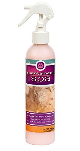 Best Shot Pet Scentament Spa Tropical Breeze Seasonal Body Splash Spray, 8 oz by Best Shot Pet
