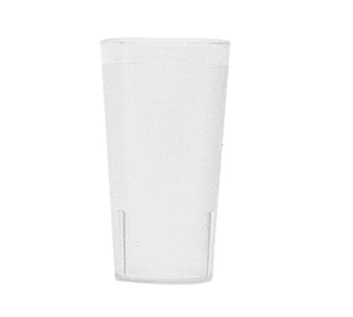 Colorware Clear Plastic Tumbler (Cambro (1600P2152) 16 oz Plastic Tumbler – Colorware Collection [Case of 24])