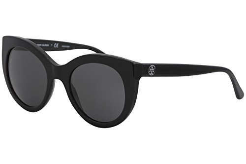Tory Burch Women's 0TY7115 51mm Black/Dark Grey Solid One - Burch Tory Eye Frames Cat