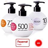 (US) Revlon Nutri Color Creme 600 Fire Red 250ml by Roomidea
