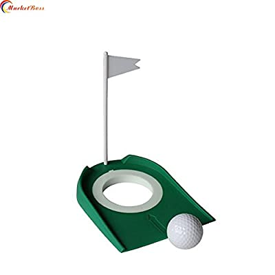 MarketBoss Simulative Golf Putting Cup with Flagstick Fit for Golf Putter Practice