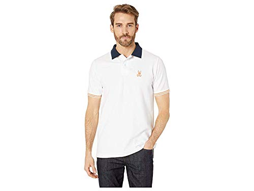 - Psycho Bunny Men's Walton Polo White XX-Large