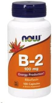 Vitamins & Supplements: NOW Supplements B-2