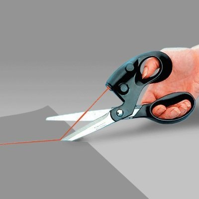 - BephaMart Straight Fast Laser Guided Scissors Sewing Laser Scissors Cuts Shipped and Sold by BephaMart