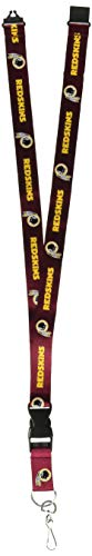 (NFL Washington Redskins Lanyard, Red)