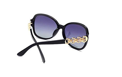amp;lunettes Métal Fashion Polarizer Soleil Beach Lunettes De couleur amp; Retro Élégantes 1 x Lady Protection En 3 4fnwqdnUA