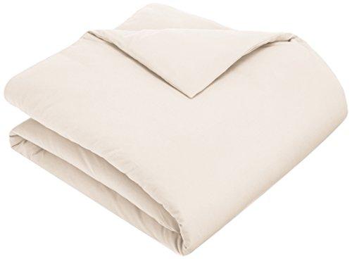 Pinzon 170 Gram Flannel Duvet Cover - Full/Queen, Cream