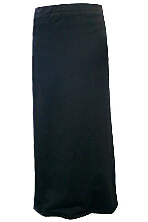 Kiki Riki Black Straight Maxi Skirt at Amazon Women's Clothing store: