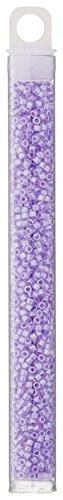 Miyuki Delica Seed Bead 11/0 DB249, Purple Ceylon, 9-Gram/Pack