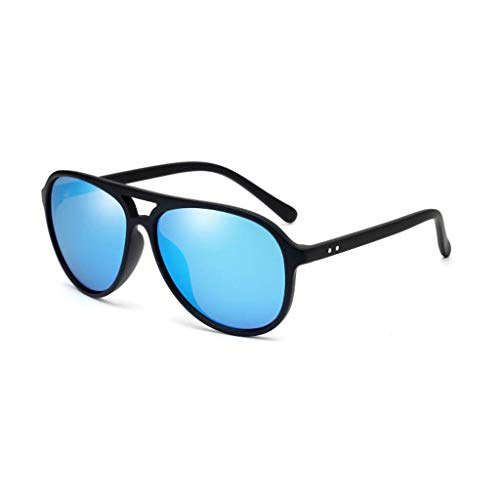 C Retro UV Big Gafas Marea de Hombres polarizadas Running Aviador sol Box New Vogue para nqwIZY16w
