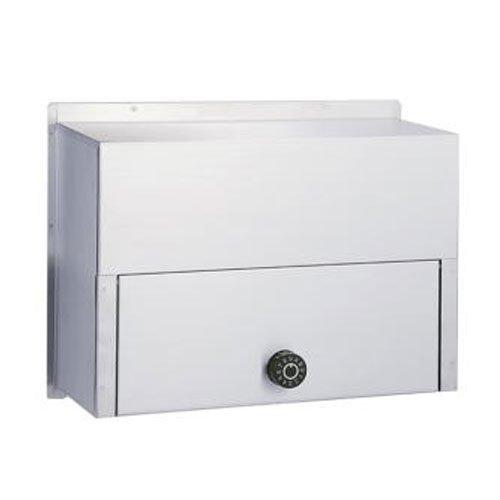 郵便ポスト ハッピー金属 ファミール670-K 受箱のみ 投函口別売 前入れ後出し ダイヤル鍵 B06X9JWM4W 15270