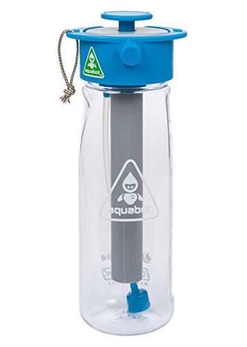 Lunatec Aquabot sport water bottle - a pressurized