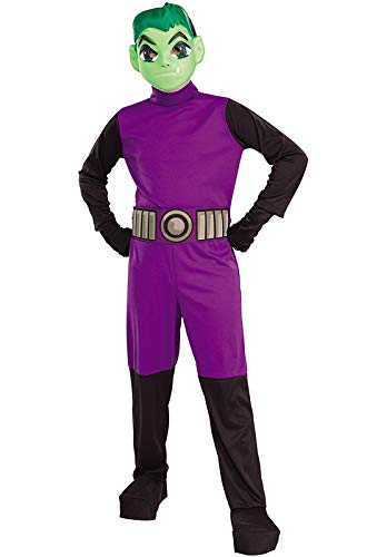 Big Boys' Titans Beast Boy Costume