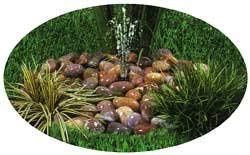 Hozelock Cyprio Pebble Fountain Water Feature w/ Pump