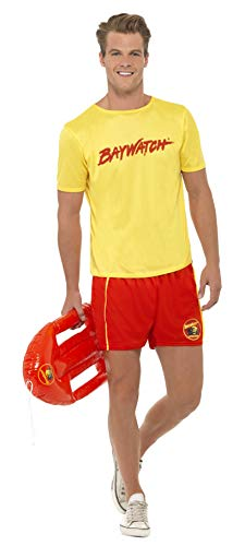 Baywatch Beach Costume, Yellow, Medium]()