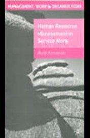 Human Resource Management in Service Work PDF