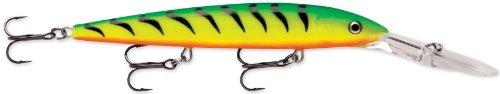 - Rapala Down Deep Husky Jerk 10 Fishing lure, 4-Inch, Firetiger