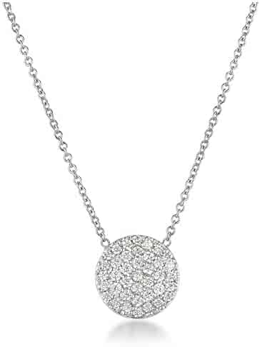Harcourt Jewels Women's 14K White Gold 16