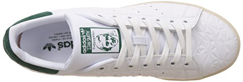 Homme Cgreen Ftwwht Baskets Basses Stan Smith Ftwwht Blanc adidas RwfI6q8p