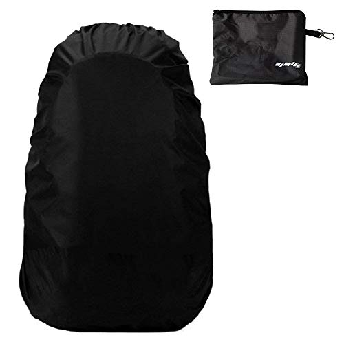 Amazon.com : Kimlee Waterproof Rain Cover with 2 Buckle Straps for Backpack 15L to 70L Rainproof Storage Pouch Included for Outdoor Activities Hiking ...