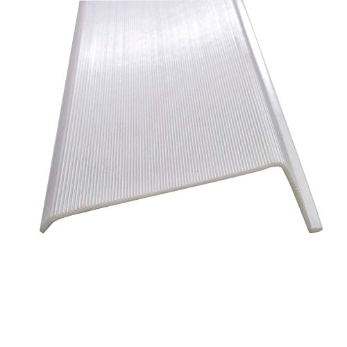 24 Inch Under Cabinet Diffuser White Ribbed Replacement Cover Lens