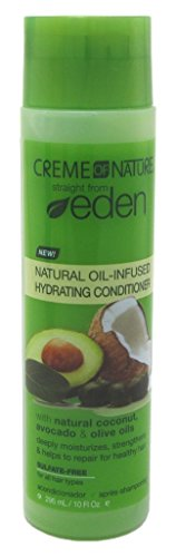 Creme of Nature Straight from Eden Plant Derived Conditioner Treatment, 10 Ounce