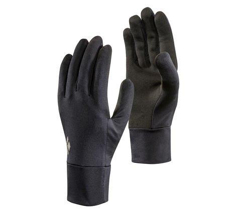(Black Diamond Unisex Lightweight ScreenTap Gloves Black XL)