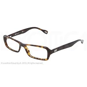 DOLCE&GABBANA D&G Eyeglasses DD 1225 HAVANA 502 DD1225 50MM