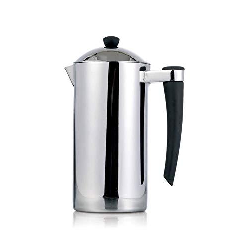 Cafeteras de émbolo Té del Acero Inoxidable Brewing método de la máquina Presión del calderín de la Mano del pote del…
