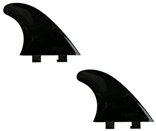"""saruSURF 4.5"""" Flexy Tip Fin Stabilizer for shortboard to SUP"""