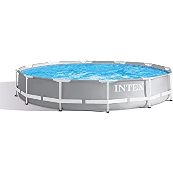 Amazon Com Intex 12 X 30 Quot Metal Frame Pool With Filter