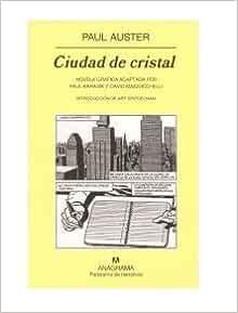 Ciudad De Cristal Novela Gráfica P Usd Anagrama Books