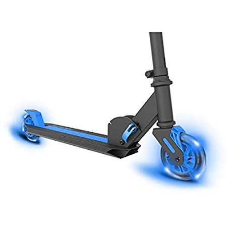 Neon Vector, LED Kids Scooter, One Size, Foldable Light Up Scooter